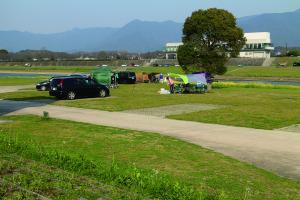 直方オートキャンプ場の様子