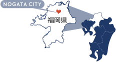 直方市マップ画像